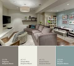 a calming palette for a basement | Home | Pinterest | Basement, Home ...