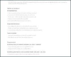 Example Of A Waitress Resume. Sample Waitress Resume Examples Resume ...