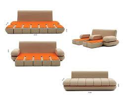 transformable furniture sofa bed lounge chair italian modular44 italian