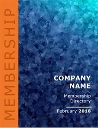 Pictorial Directory Template Word Membership Directory Word