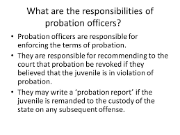 "Juvenile Probation What is Probation Probation is defined as ""A"
