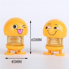 car shaking head emoji toys