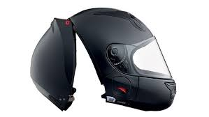 unique rear entry helmet makes putting on your helmet a snap the