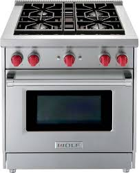 wolf 30 inch gas cooktop.  Inch Wolf 30 Inch Single Oven Range  Stainless Steel LPGR304LP In Inch Gas Cooktop R