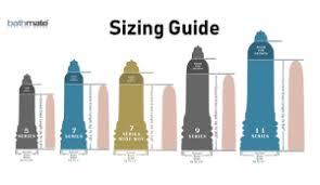 Bathmate Growth Chart Bathmate Hydromax Pump Increase Penis Size