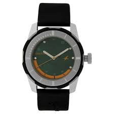 fastrack analog green watch for men id ng3099sp06c buy online titan