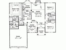 Eplans New American House Plan   A Split Bedroom Plan   1575 Square Feet  And 3 Bedrooms From Eplans   House Plan Code