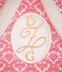 our wood wall monograms are the perfect way to add a signature statement to