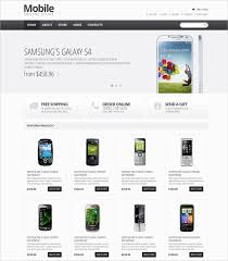 Free Ecommerce Website Templates Awesome 28 Best Mobile Store Mobile Templates Themes Free Premium