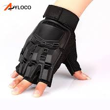 Mens Leather Driving <b>Gloves Military Tactical Gloves</b> Paintball ...
