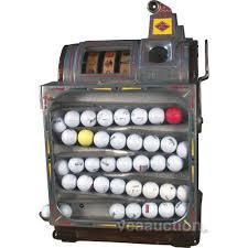 Used Golf Ball Vending Machine Mesmerizing 48 Cent Jennings Golf Ball Slot Machine