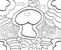 Small Picture Trippy Coloring Pages Trippy Mushroom Coloring Pages Pictures