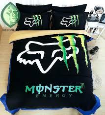 monster bedding set modern duvet cover sets compare s print jam bed in a bag kids bed in a bag monster jam