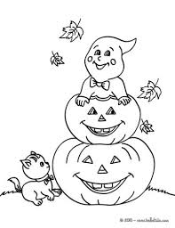 Small Picture Jack o Lantern PUMPKINS coloring pages Free coloring pages for kids