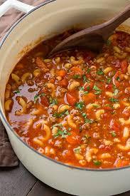 goulash soup beef and tomato macaroni