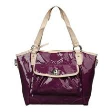 Coach Bleecker Riley Carryall Small Purple Satchels ECD Is The Best Choice  To Send Your Friend