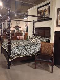 key town kingqueen poster bed ashley furniture in tricities