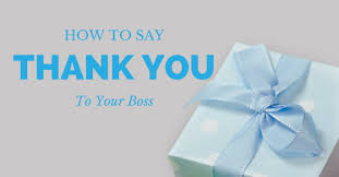 Best Ways On How To Say Thank You To Your Boss Wisestep