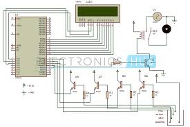 circuit diagram of water level controller ireleast info water level controller and indicator using 8051 microcontroller wiring circuit
