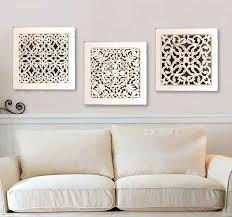 white carved wood wall art fine wall decor white crest wall painting ideas white carved wood
