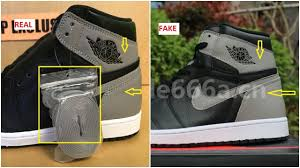 Pairs Fake Youtube Many Shadow Vs Jordan And Real 1 Og How - Air Made