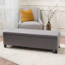 bedroom bench. schmit upholstered storage bench bedroom