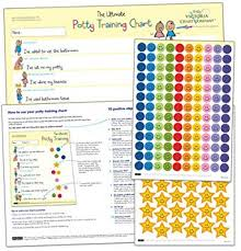 Toddler Potty Chart Ideas The Ultimate Potty Training Reward Chart For 2 Yrs Motivate Toilet Training Award Winning Positive Reinforcement 17 X 12 Inches