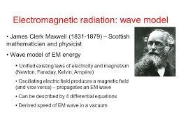 2 electromagnetic radiation wave model