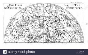 First Part Of The Star Chart Of The Southern Celestial