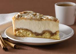 Image result for cinnamon roll cheesecake
