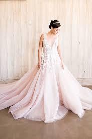 styling a modern bridal tiara with a blush wedding dress hey