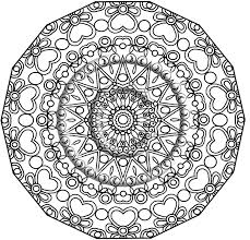 Small Picture Lovely Mandala Coloring Pages Pdf 78 On Coloring Print with