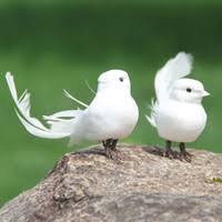 Wholesale White <b>Feather Birds</b> for Resale - Group Buy Cheap White ...