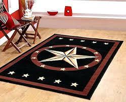 brown and black area rug western star rustic cowboy area rug brown black brown black tan