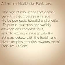 Buy electronics, phones and tablets, groceries,. The Signs Of Knowledge That Doesn T Benefit Al Imam Al Haafidh Ibn Rajab Daily Islamic Benefits
