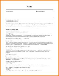 4 Salesperson Resume Objective Biodate Format