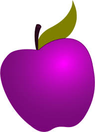 purple apple clipart. purple apple dot clipart