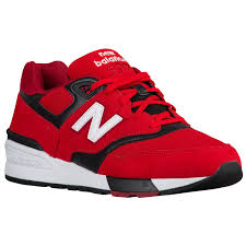 new balance shoes red and black. new balance 597 - men\u0027s shoes red and black 0