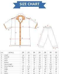 Blouse Size Chart Blouse Half Sleeves Pakturk Size Chart Professional Uniform