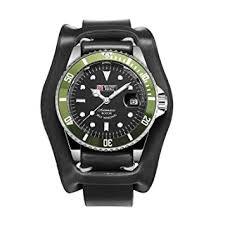 Mechanical Men's 40mm Analog <b>Military</b> Watch <b>Date Army Sport</b> ...