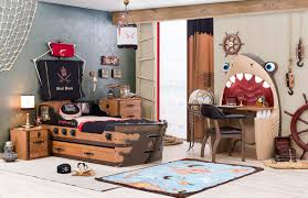 Pirate Bedroom Furniture Tb 6888 Captains Armada Pirate Ship Bed