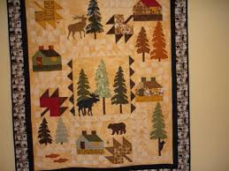 11 best Suduku quilts images on Pinterest | Quilt patterns ... & Northern Neighbours quilt made following visit to Sugar Pine quilt shop in  Canmore, Alberta Canada Adamdwight.com