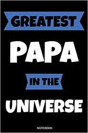 Greatest Papa In The Universe Das Perfekte Vatertagsgeschenk