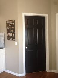 black doors with white trim love doors black white trim