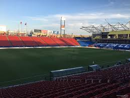 Toyota Stadium Football Seating Chart Toyota Stadium Section 103 Fc Dallas Rateyourseats Com