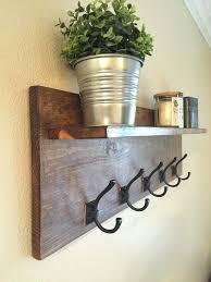 wall rack with hooks clothing hooks decorative coat hooks for wall decorative wall rack entry shelf