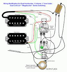 dvm s humbucker wiring mods page of  dual coil cut megabucker version
