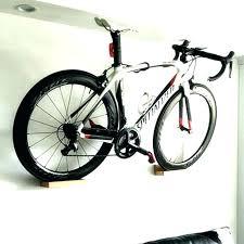 wooden wall bike rack mounted high duty beech wood bicycle show mount homemade racks plans how wood bike rack