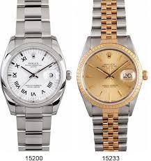 rolex watch case sizes bob s watches unisex size