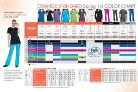 Koi Orange Standard Color And Size Chart Shop At Pella